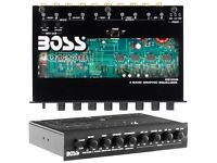 Boss EQ1208 4 Band Pre-amp Graphic Equalizer with Subwoofer Output