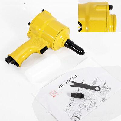Portable Pneumatic Air Hydraulic Pop Rivet Gun Riveter Riveting Tool Us Shipping