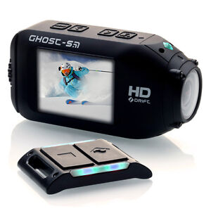 Drift Ghost S HD 1080p – Waterproof Sport Camera with Wireless Remote NEW!