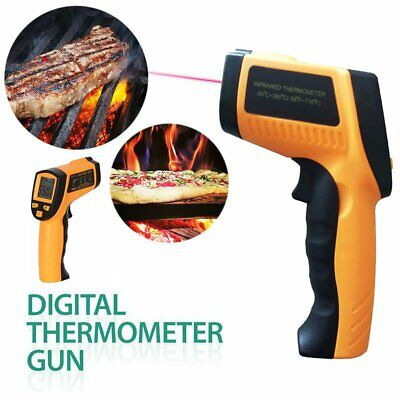 Infrared Thermometer Non-contact Ir Temperature Temp Meter Gun Digital Laser Lcd