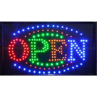 21 X 13 Led Business Large Open Sign Onoff Switch Ultra Brighter Neon Light