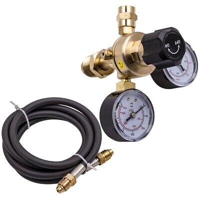 Argonco2 Mig Tig Flow Meter Welding Weld Regulator Gauge Gas Welder For Cga580