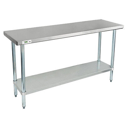 Regency 18 X 60 Stainless Steel Work Prep Table Commercial Restaurant 18 Gauge