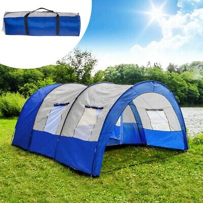 Tunnel Tent 6 Person Used Once Large Family Group Water Column Camping
