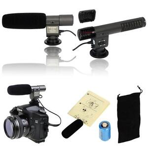 SG108-Pro-DV-camera-Stereo-Microphone-for-3-5mm-MIC-jack-canon-7D-60D-5D-Mark-II