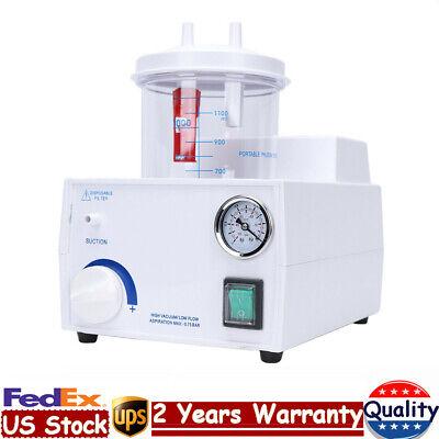 Medical Phlegm Suction Unit Electrical Piston Pump Vacuum Machine Aspirator 110v