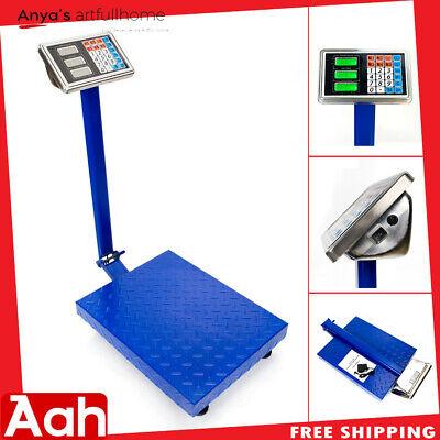 300kg661lbs Lcd Digital Personal Floor Postal Platform Scale Weight Price Tools