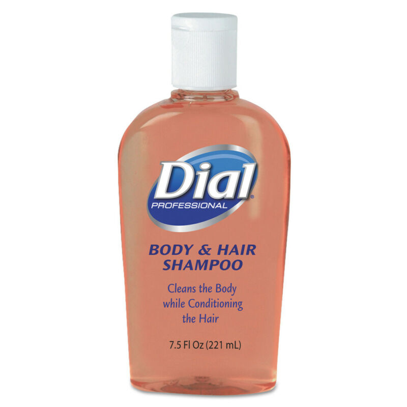 Dial Body & Hair Care, Peach Scent, 7.5oz Flip-Cap Bottle, 24/carton  4014 New