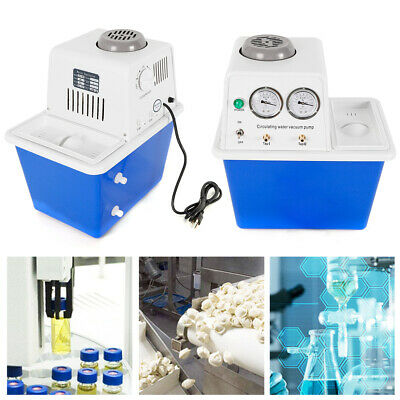 Circulating Water Vacuum Pump Lab Chemistry Equipment Stainless 180w 60lmin