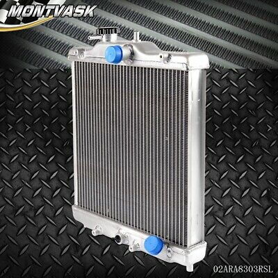 3 Row 52mm Aluminum Radiator For HONDA CIVIC 92 - 00 EK EG D15 -