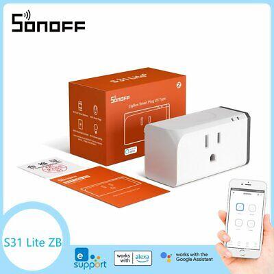 Sonoff S31 Lite ZigBee Smart Plug Switch US Socket Power Wifi APP Remote Control