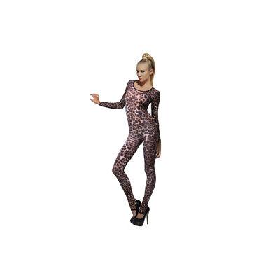 Smi - sexy Damen Bodysuit Gepard Leo in - Damen Bodysuit Kostüme
