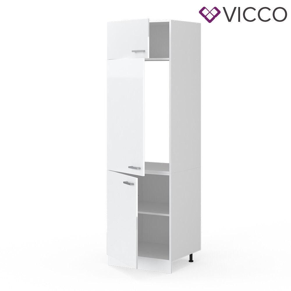 VICCO Küchenschrank Hängeschrank Unterschrank Küchenzeile R-Line Kühlumbauschrank 60 cm weiß
