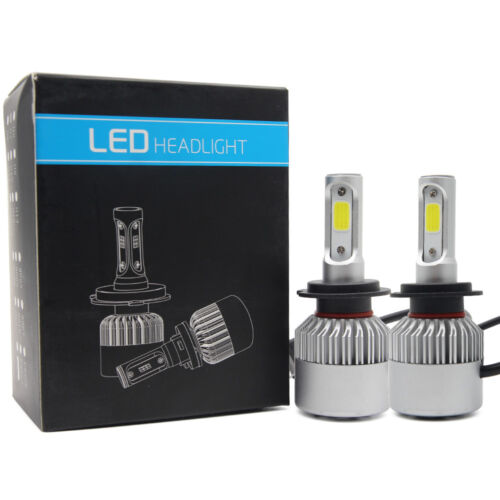 2pcs S2 H7 72W 16000LM LED Headlight Car Auto Vehicle Bulb Fog Lamp Hi-Lo Beam Car & Truck Parts