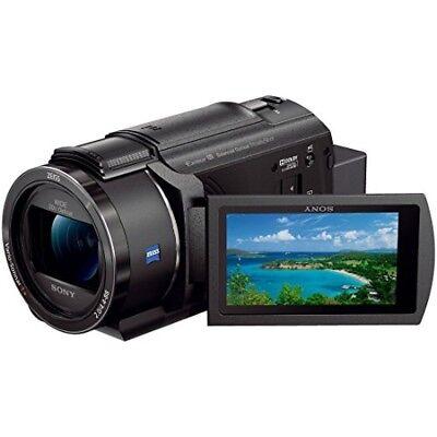 Sony Video Cámara FDR-AX45 4K 64GB Óptico 20 Times Negro Fdr-ax45 BC