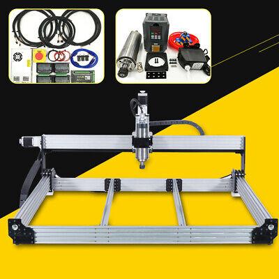 10001000mm 4 Axis Cnc Router Machine Complete Kit 2.2kw Cnc Engraver