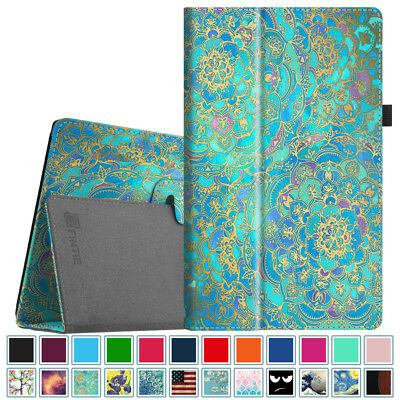 (Folio Case Stand Cover for All-New Amazon Fire 7 / HD 8 / HD 10 7th 2017 Tablet)