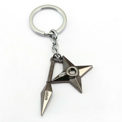 NARUTO Keychain Anime Key Chain Key Ring Holder Pendant