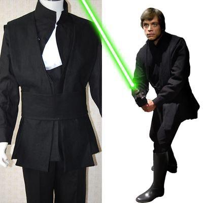 Star Wars Return of the Jedi Luke Skywalker Outfit Cosplay Costume Uniform V.144
