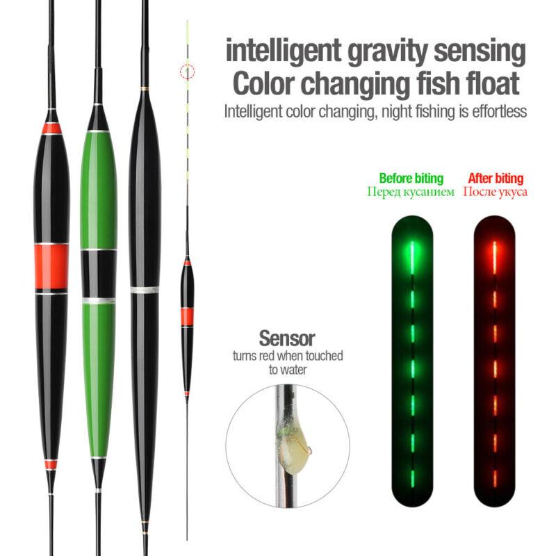 Smart Fishing Float Night Luminous Fishing Floats Led Light Automatically Remind