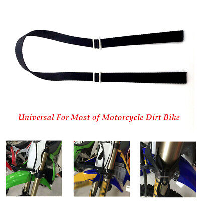 Motorcycle Dirt Pit Bike Rescue Strap Pull Belt Tow Rope Universal  Durable