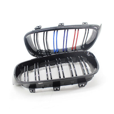 Mix Grill - L&R Gloss Black Mix Color Grill 14-16 fit for BMW F34 335i GT 328i 335i GTxDrive