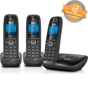 Gigaset Al415A Trio Digital Cordless Recording loudspeaker Phone Answer Machine
