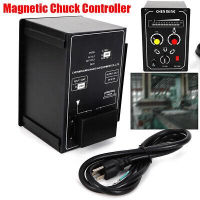 110v Electro Magnetic Chuck Controller 5a 0-100v Dc Demagnetizing 9-15s Control
