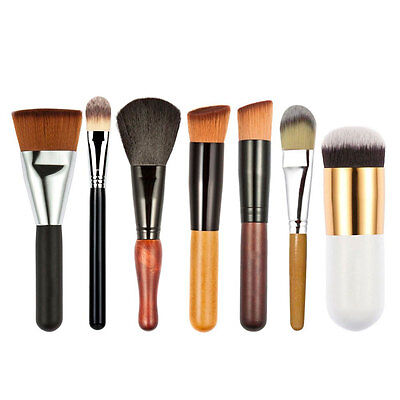 7Pcs Pro Makeup Cosmetic Brushes Set Kit Powder Foundation Eyeshadow Lip Brush