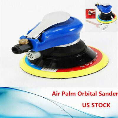 6INCH Air Palm Orbital Sander Random Hand Sanding Pneumatic Round 10000 RPM
