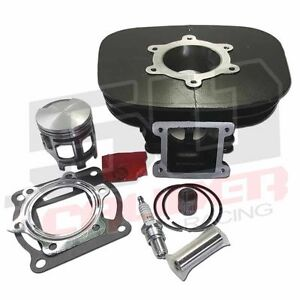 atv yamaha blaster yfs200 rebuild 200cc piston rings top end cylinder kit ebay