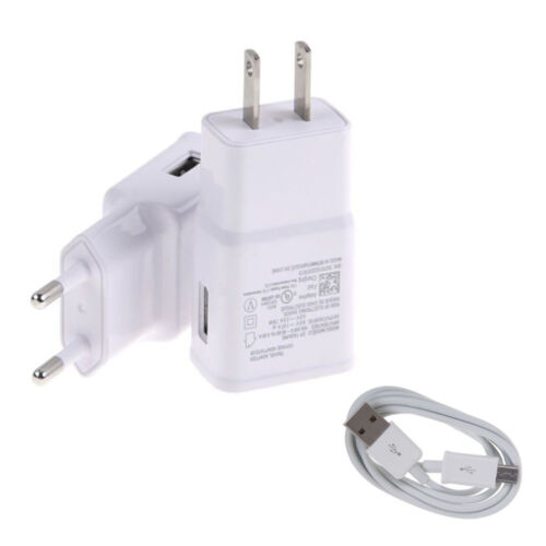 Fast Rapid Wall Charger Power Adapter USB Cable For Samsung