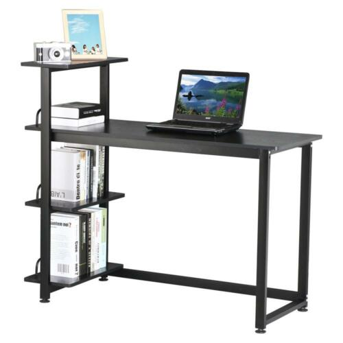 new home office computer desk pc laptop study workstation. Black Bedroom Furniture Sets. Home Design Ideas