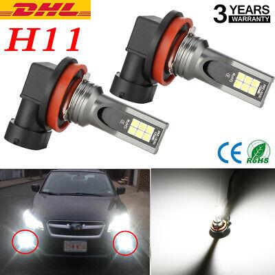 Paar H8/9/11 220W CSP LED Nebelscheinwerfer Auto 26000LM 6000K Xenon Weiß