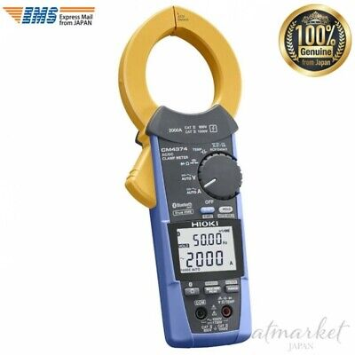 Hioki Ac Dc Clamp Meter Cm4374 Ac Dc 2000a With Bluetooth Genuine From Japan
