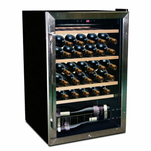45 Bottles - Wine Fridge - Zone Underbench Single Zone - VinoVault