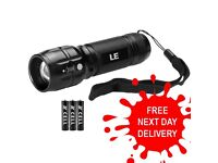 **SALE** NEW LED Flashlight Tactical Zoomable Torch Lamp Adjustable Flashlight Torch