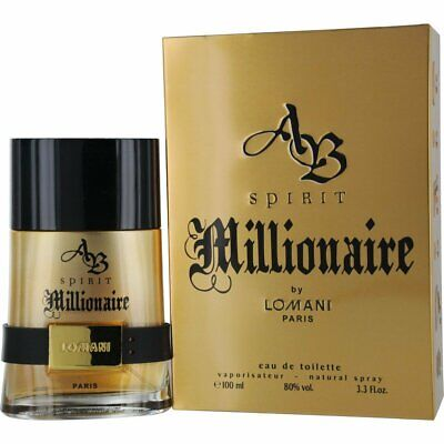 AB SPIRIT MILLIONAIRE by Lomani Eau De Toilette 100ml ()