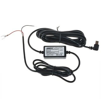 12v to 5v Hard Wire Adapter Cable Mini USB for Car GPS DVR Dash Camera DODO TT