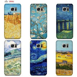 Custodia-Cover-Design-Anukku-Trasparente-Gel-Van-Gogh-Per-Cellulari-Samsung