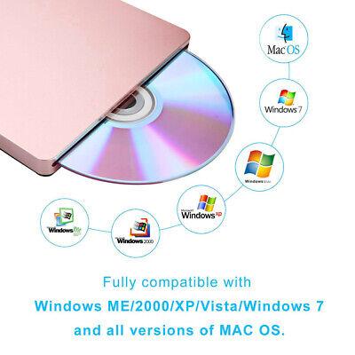PC External USB2.0 DVD Burner Reader Optical High Speed CD Drive Writer Player