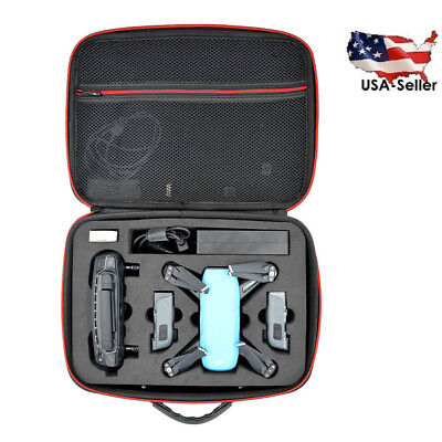 Carrying Case Bag for DJI Spark Drone Accessories Waterproof Hard Storage Box US