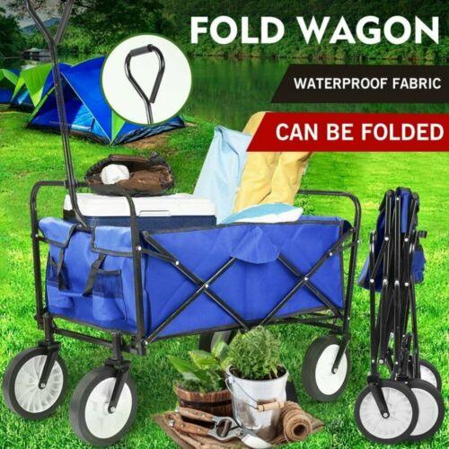 Collapsible Wagon Cart Camp Garden Tool Large Capacity Porta