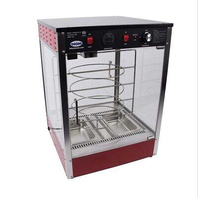 Cozoc Pw5002-10-18 21 Countertop Hot Food Display Case Concession Pizza Warmer