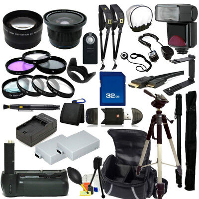 EVERYTHING YOU NEED for Canon EOS Rebel T5i 700D Digital SLR Cameras