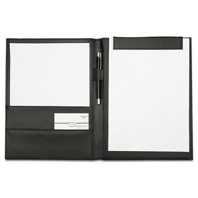Richblue Leather Padfolio Portfolio Writing Pad Folder Document Organizer Holder