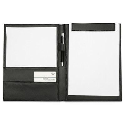 Richblue Leather Padfolio Portfolio Writing Pad Folder Document Organizer Holder