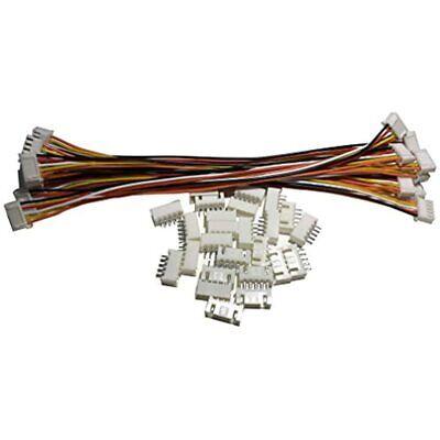 1Box JST-XH Kit 2//3//4//5Pin XH2.54MM Terminal Housing PCB Header Wire Connect/_hz