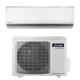 NEW TOYOTOMI 1200 BTU INVERTER SPLIT AIR CONDITIONING UNIT IN/OUT WALL MOUNT UNIT HEAT + COOL