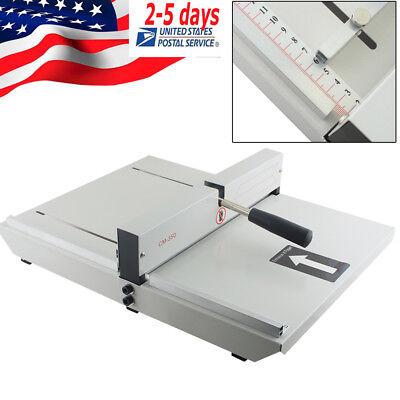 35cm Manual Hand Paper Card Creaser Creasing Scoring Machine Scorer W Lock-usa